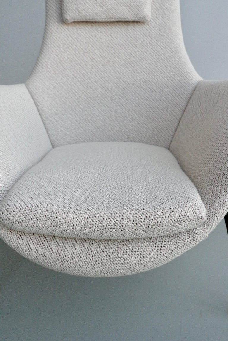 Lounge Chair by Augusto Bozzi for Fratelli Saporiti, Italy, 1950s For Sale 1