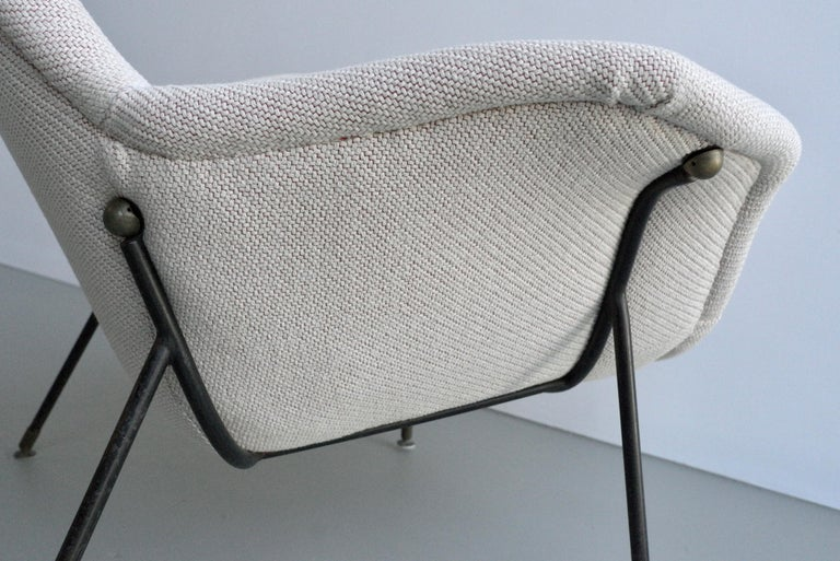 Lounge Chair by Augusto Bozzi for Fratelli Saporiti, Italy, 1950s For Sale 3
