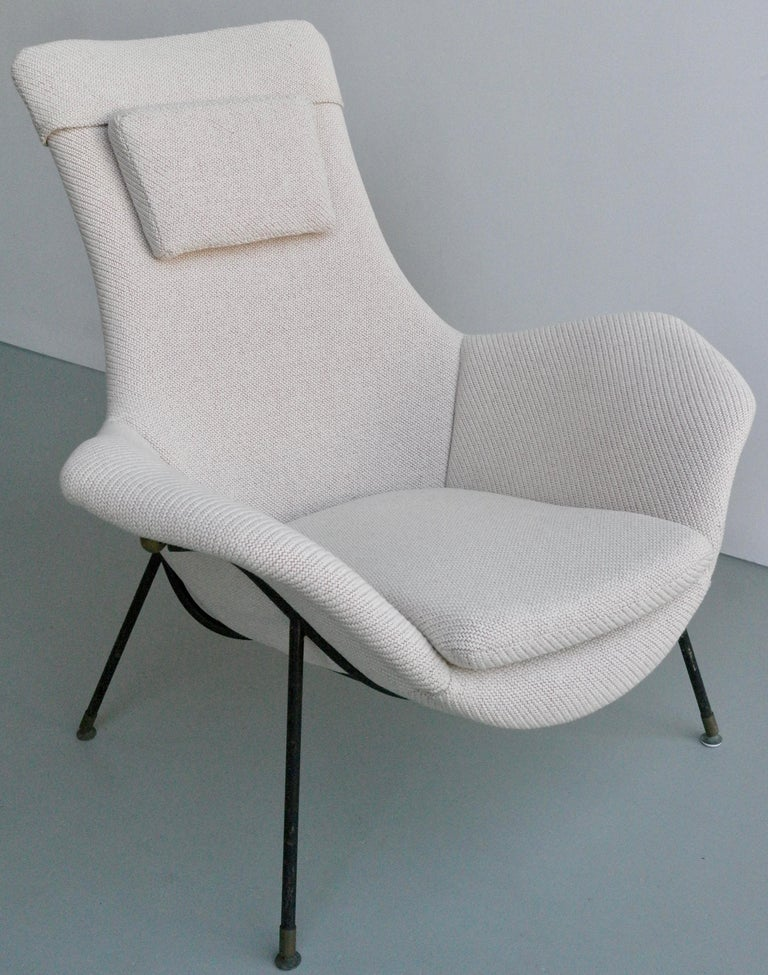Lounge chair by Augusto Bozzi for Fratelli Saporiti, Italy, 1950s.