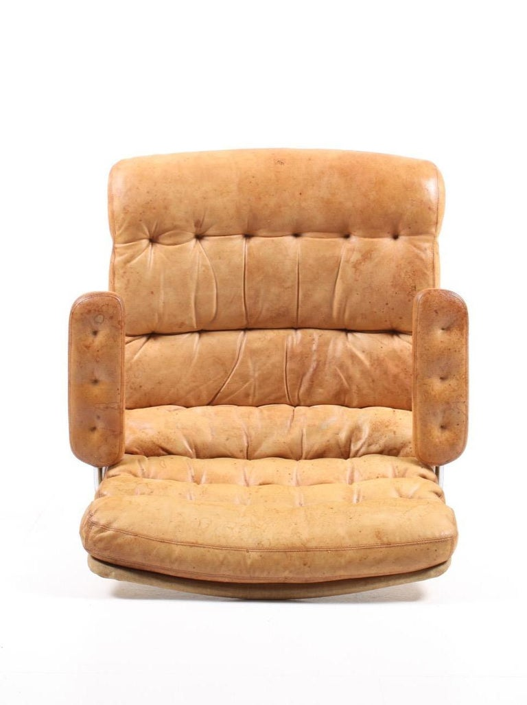 Lounge Chair by Bruno Mathsson For Sale 3