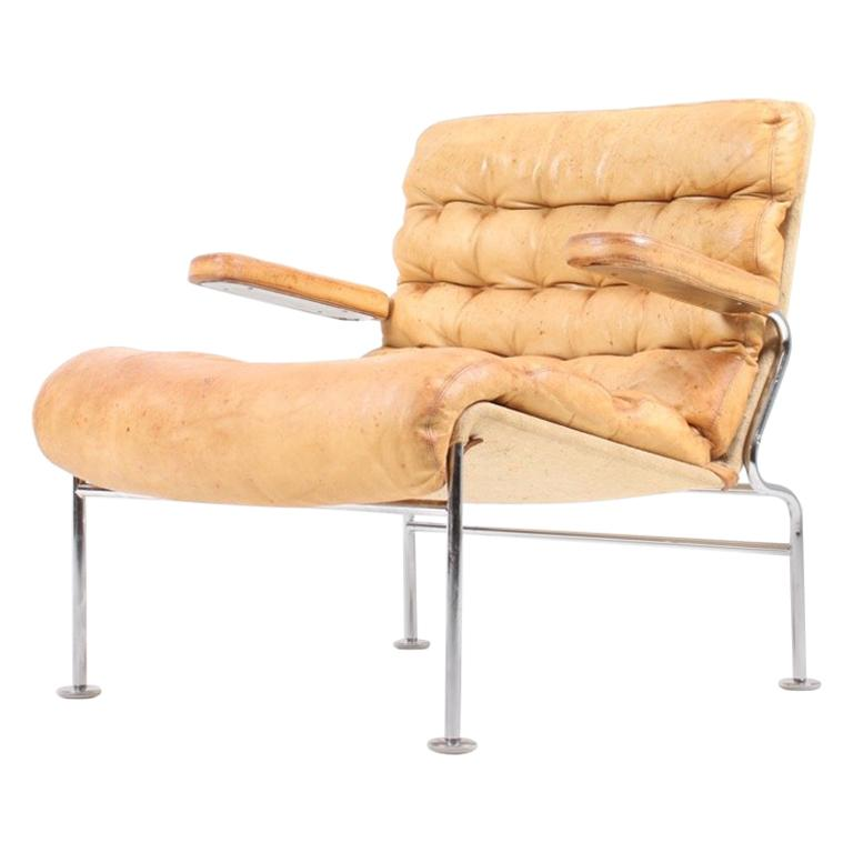 Lounge Chair by Bruno Mathsson For Sale