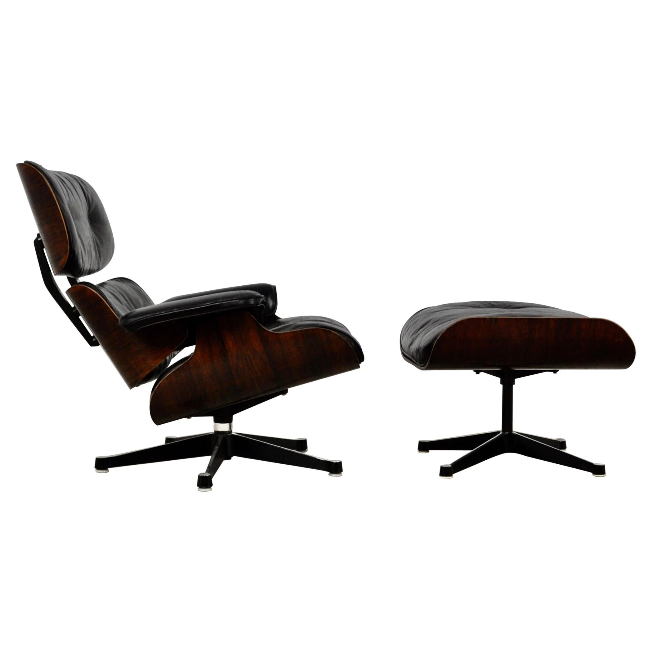 Lounge Chair by Charles & Ray Eames for Herman Miller, 1970
