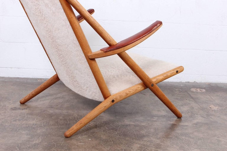 Lounge Chair by Ditte and Adrian Heath for Soren Horn For Sale 6