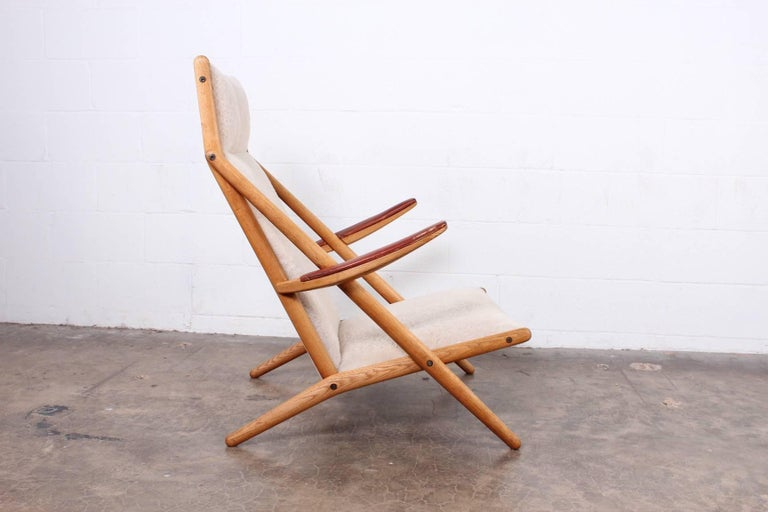 Lounge Chair by Ditte and Adrian Heath for Soren Horn For Sale 9