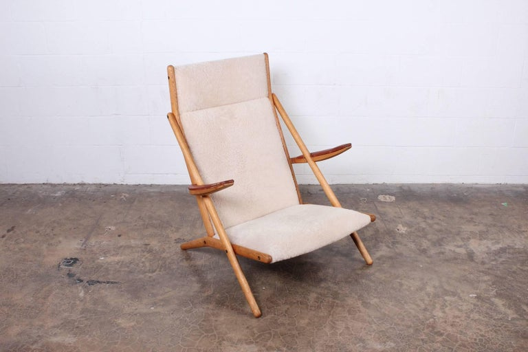 Lounge Chair by Ditte and Adrian Heath for Soren Horn In Good Condition For Sale In Dallas, TX