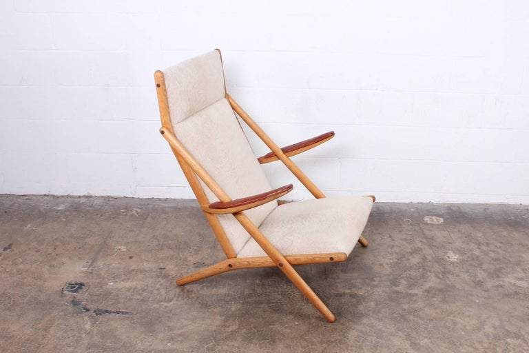 Mid-20th Century Lounge Chair by Ditte and Adrian Heath for Soren Horn For Sale