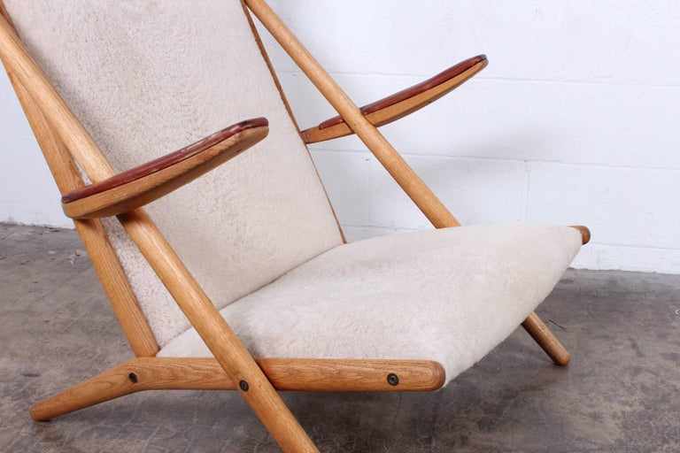 Lounge Chair by Ditte and Adrian Heath for Soren Horn For Sale 3