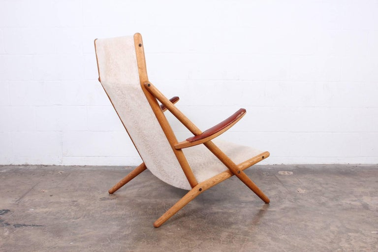 Lounge Chair by Ditte and Adrian Heath for Soren Horn For Sale 5