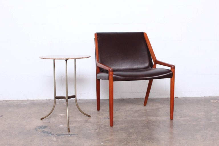 Lounge Chair by Ejner Larsen and Axel Bender Madsen for Willy Beck For Sale 3