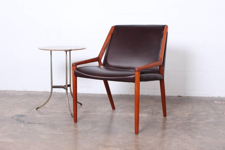 Lounge Chair by Ejner Larsen and Axel Bender Madsen for Willy Beck For Sale 4