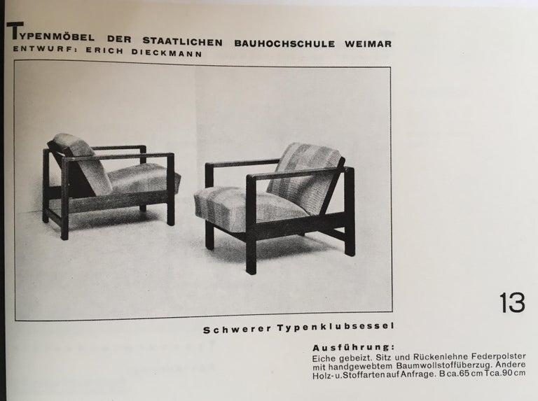 Lounge Chair by Erich Dieckmann For Sale 9