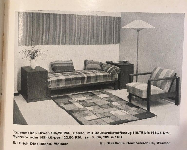 Lounge Chair by Erich Dieckmann For Sale 10