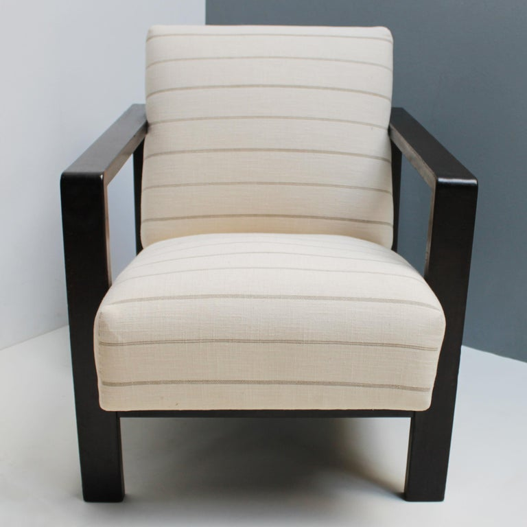 Stained Lounge Chair by Erich Dieckmann For Sale