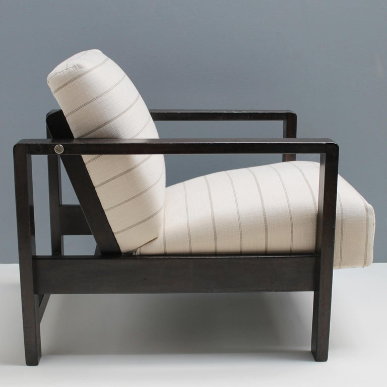 Early 20th Century Lounge Chair by Erich Dieckmann For Sale