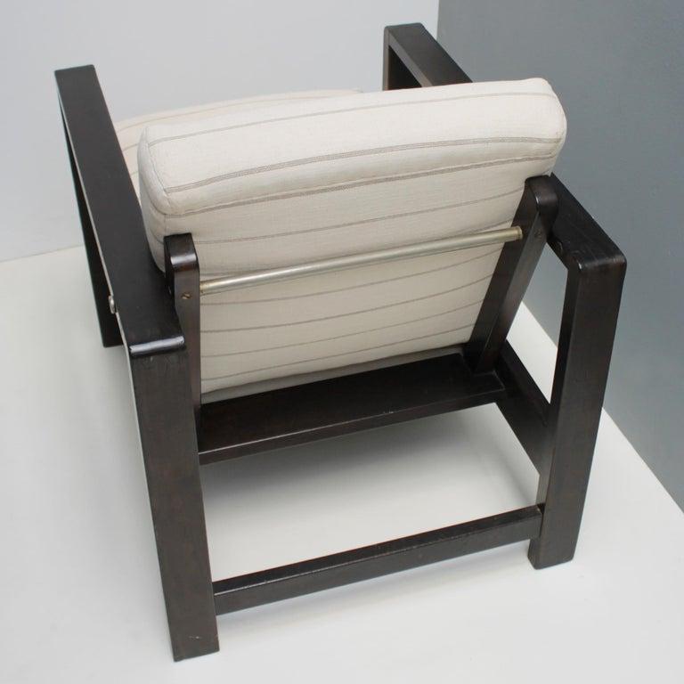 Oak Lounge Chair by Erich Dieckmann For Sale