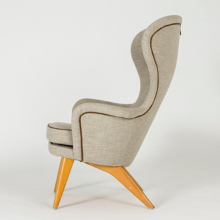 Scandinavian Modern Lounge Chair by Gustaf Hiort af Ornäs For Sale