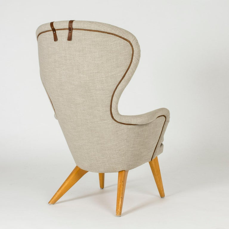 Finnish Lounge Chair by Gustaf Hiort af Ornäs For Sale
