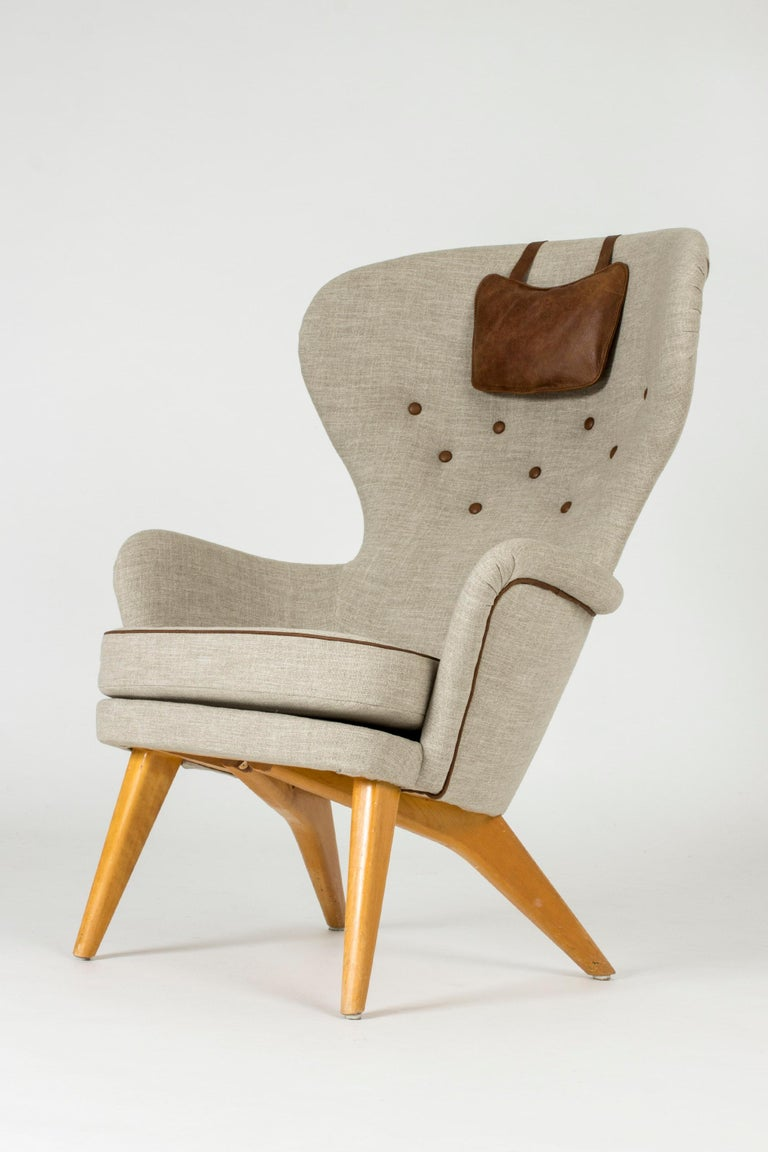 Lounge Chair by Gustaf Hiort af Ornäs In Good Condition For Sale In Stockholm, SE