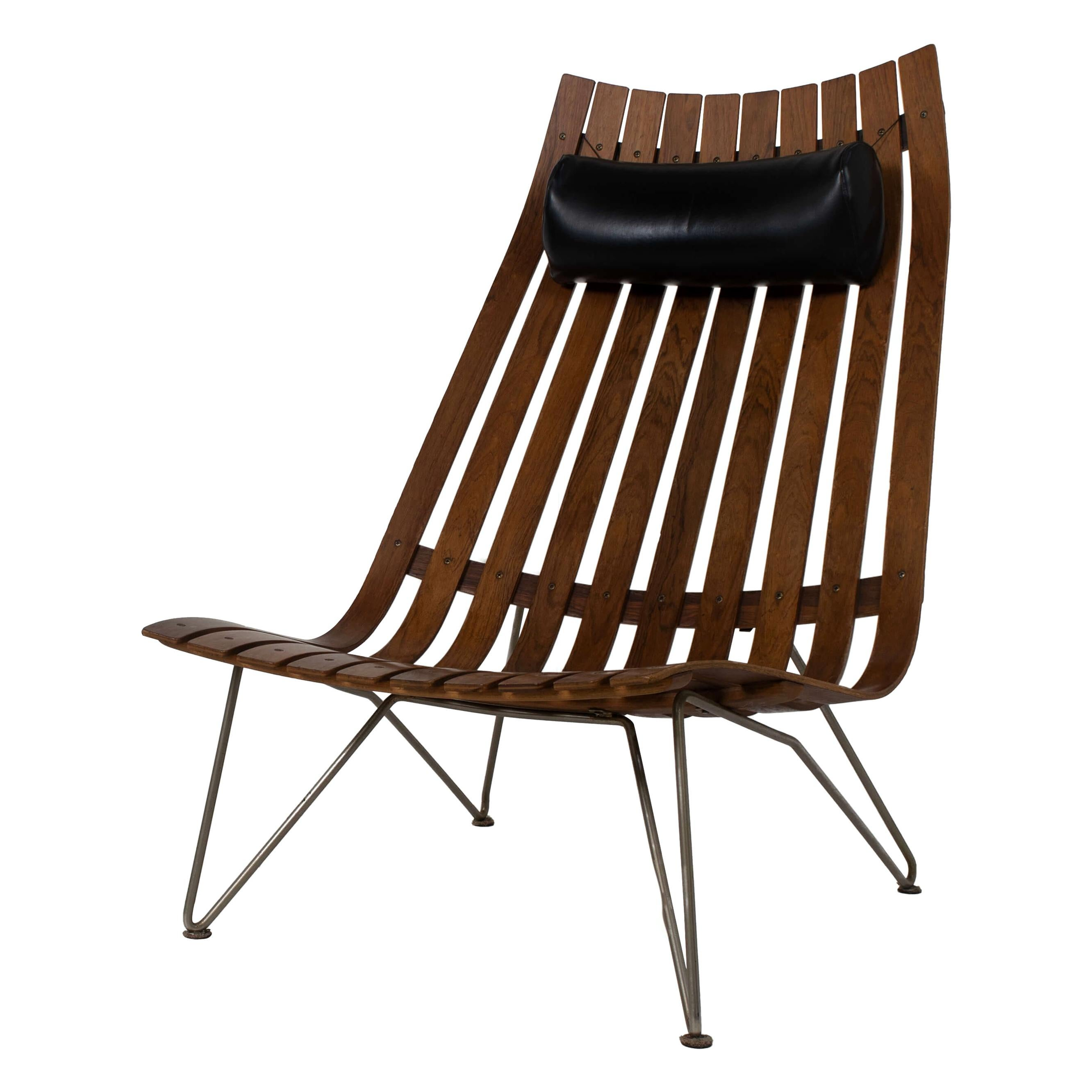 Lounge Chair by Hans Brattrud Model Scandia for Hove Møbler, Norway, 1960s