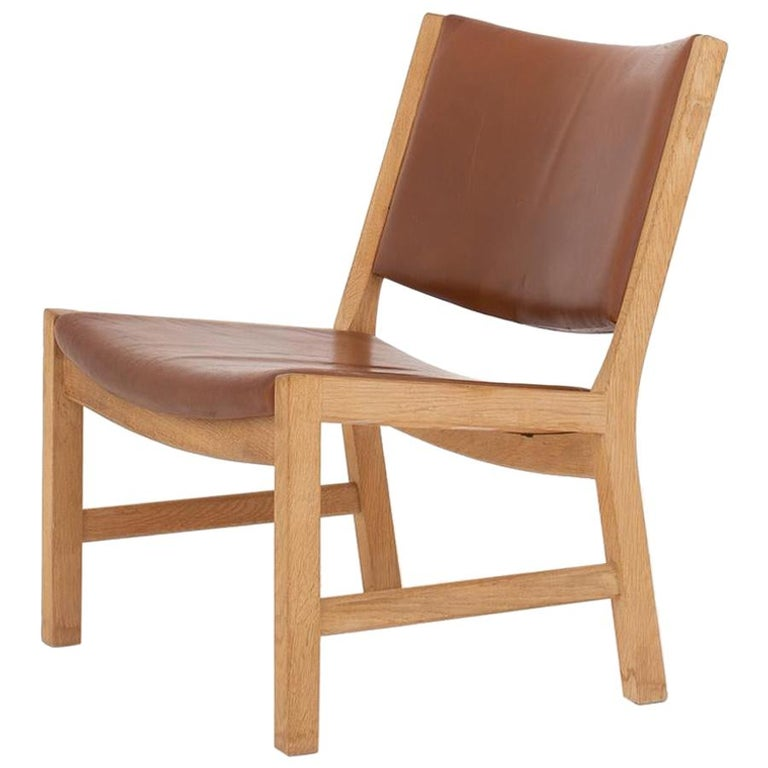 Lounge Chair by Hans J. Wegner For Sale