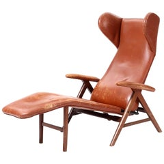 Lounge Chair by H.W. Klein Attributed for Bramin, Denmark, 1960s