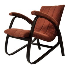 Lounge Chair by Jan Vaněk, 1930s