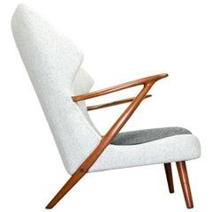 Lounge Chair by Kurt Olsen for Slagelse Mobelvaerk, 1950s