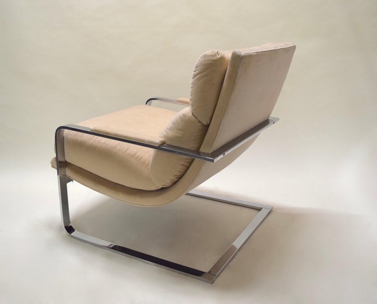20th Century Lounge Chair by Milo Baughman for Thayer Coggin, USA, circa 1975 For Sale
