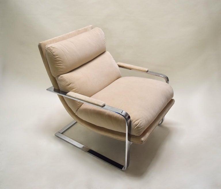 Lounge Chair by Milo Baughman for Thayer Coggin, USA, circa 1975 For Sale 1