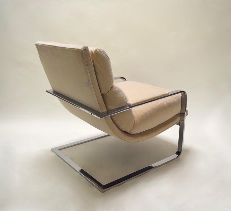 Lounge Chair by Milo Baughman for Thayer Coggin, USA, circa 1975 For Sale 3
