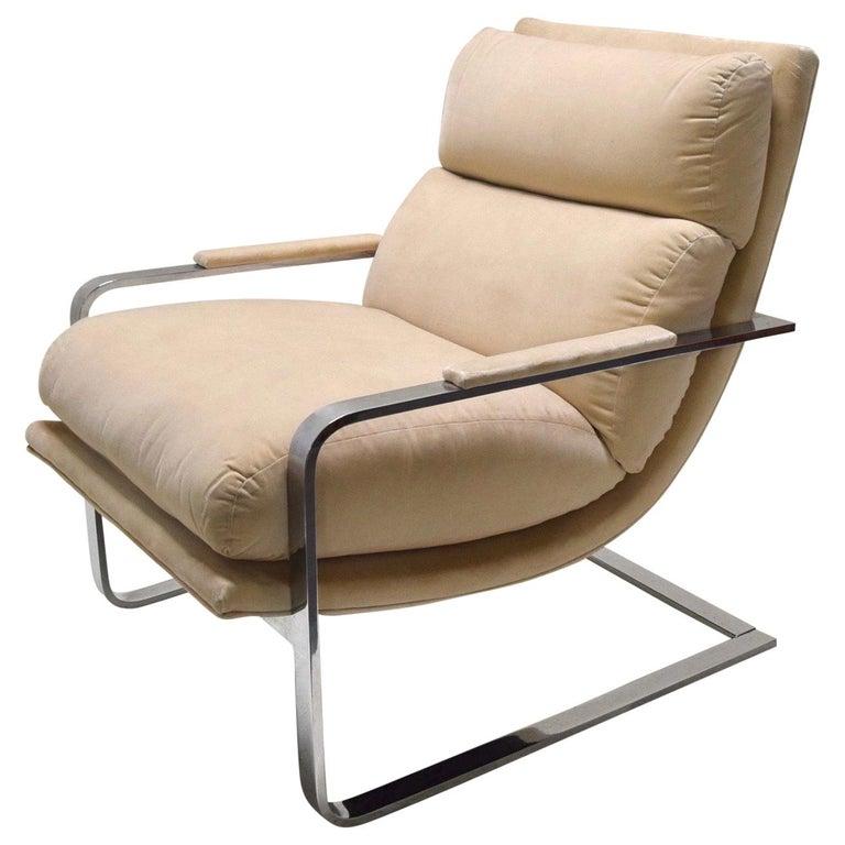 Lounge Chair by Milo Baughman for Thayer Coggin, USA, circa 1975 For Sale
