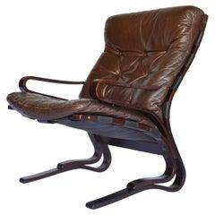 Lounge Chair by Oddvin Rykken for Rybo Rykken & Co, 1970s