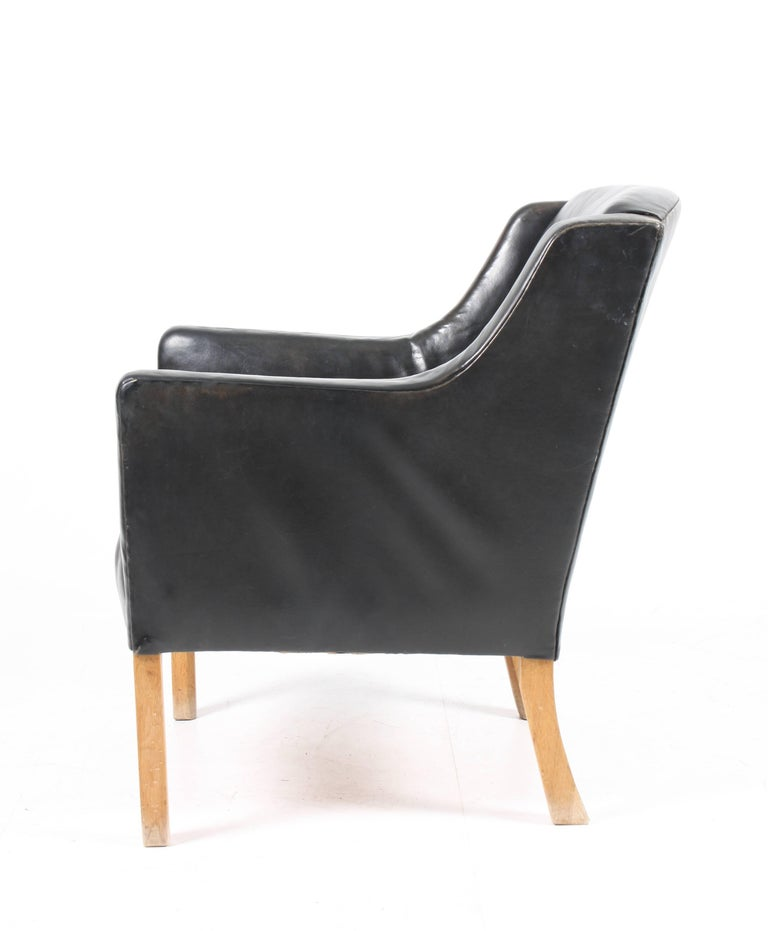 Lounge Chair by Ole Wanscher In Excellent Condition For Sale In Lejre, DK