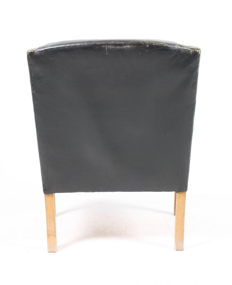 Mid-20th Century Lounge Chair by Ole Wanscher For Sale
