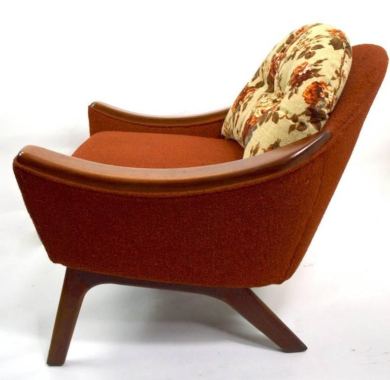 Lounge Chair by Pearsall Hers For Sale 3