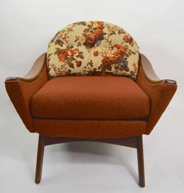 American Lounge Chair by Pearsall Hers For Sale