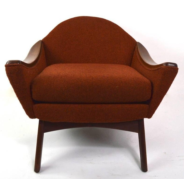 20th Century Lounge Chair by Pearsall Hers For Sale