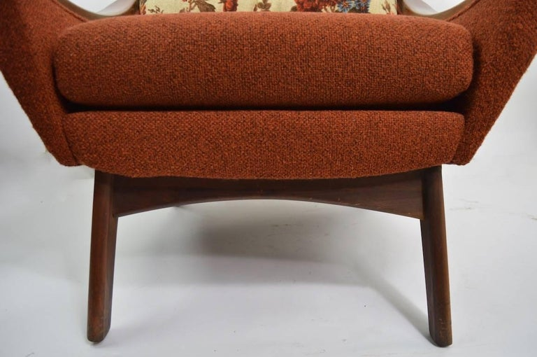 Upholstery Lounge Chair by Pearsall Hers For Sale
