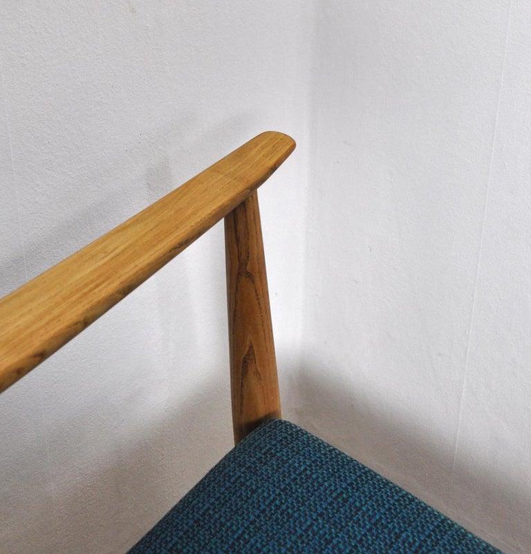 Lounge Chair by Peter Hvidt & Orla Mølgaard-Nielsen, France & Daverkosen, 1950s For Sale 3