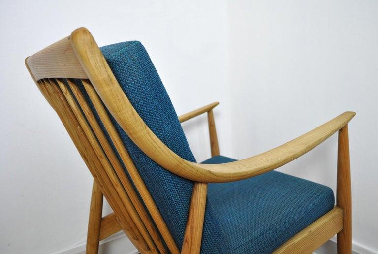 Lounge Chair by Peter Hvidt & Orla Mølgaard-Nielsen, France & Daverkosen, 1950s For Sale 6
