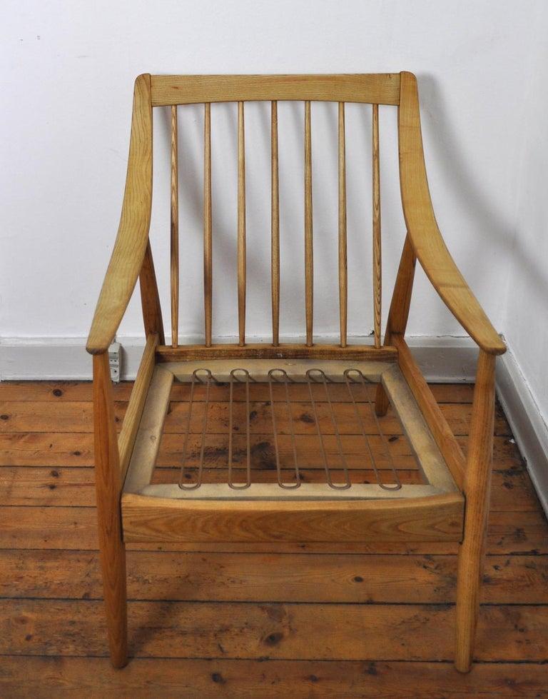 Lounge Chair by Peter Hvidt & Orla Mølgaard-Nielsen, France & Daverkosen, 1950s For Sale 7