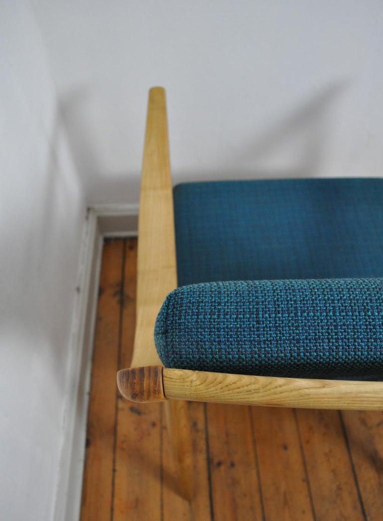 Lounge Chair by Peter Hvidt & Orla Mølgaard-Nielsen, France & Daverkosen, 1950s For Sale 1