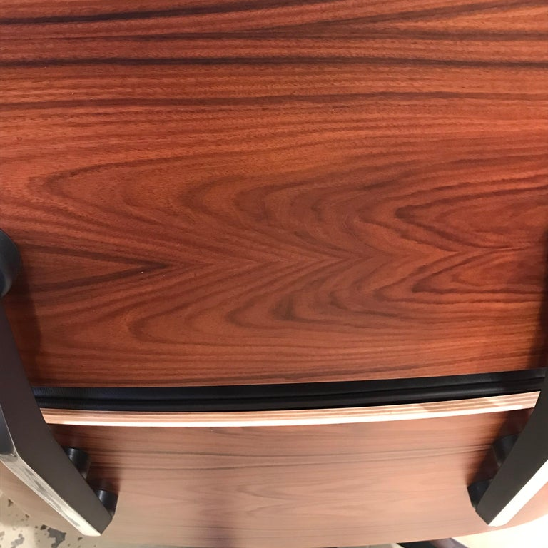 Lounge Chair Charles Eames and Ottoman, 2015 For Sale 1