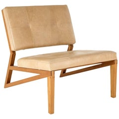 Lounge Chair Cim Made of Tropical Hardwood in Brazilian Contemporary Design