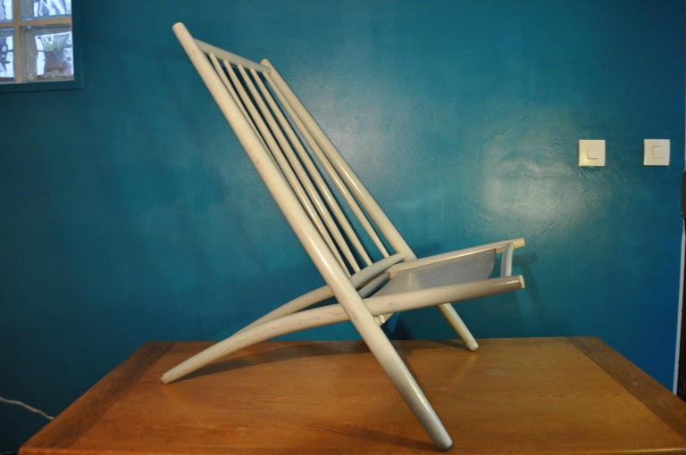 Scandinavian Modern Lounge Chair