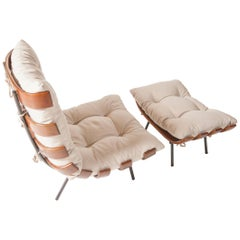 Lounge Chair Costela with Ottoman