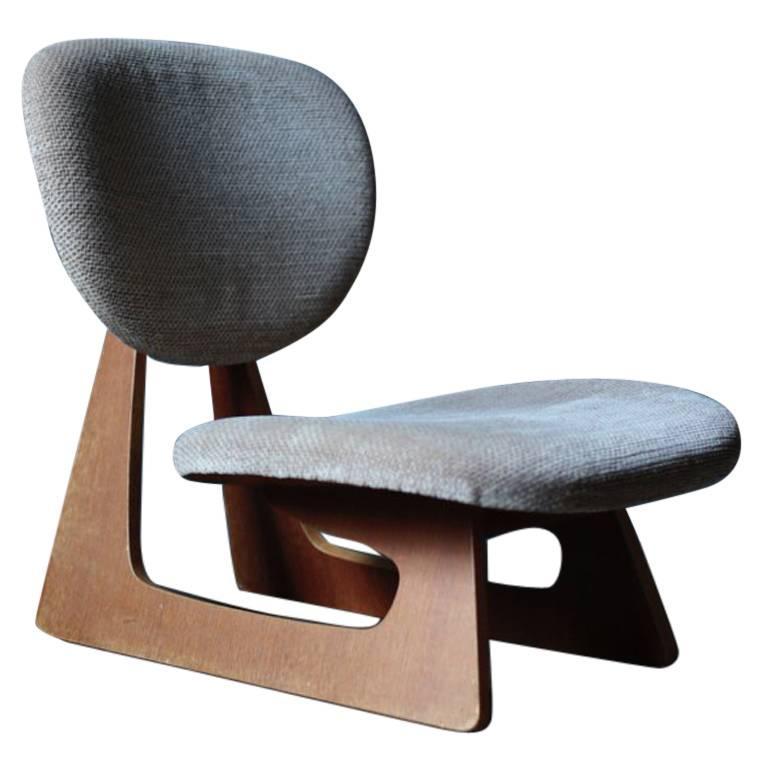 Lounge Chair Designed by Junzo Sakakura Manufactured by
