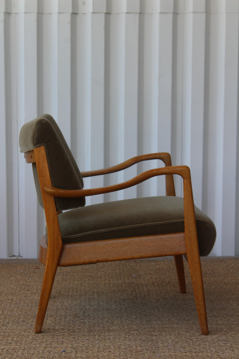 American Lounge Chair Designed by Paul Laszlo for Brown Saltman, U.S.A, 1950s