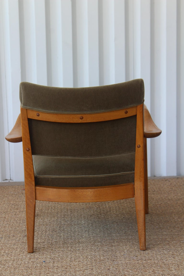 Lounge Chair Designed by Paul Laszlo for Brown Saltman, U.S.A, 1950s In Good Condition In Los Angeles, CA