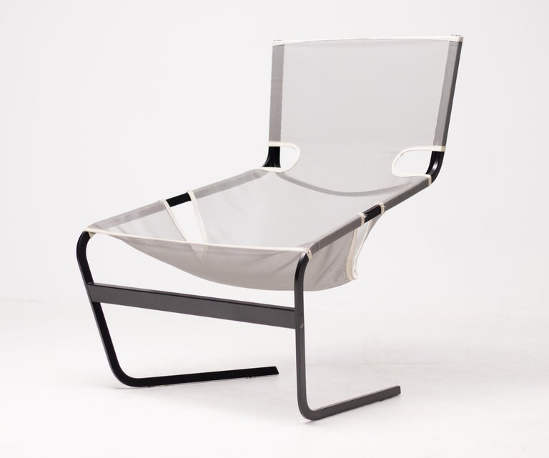 Mid-Century Modern Lounge Chair F444 by Pierre Paulin for Artifort For Sale